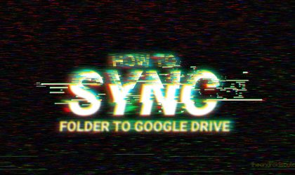 How to sync a local folder with Google Drive on your Android device