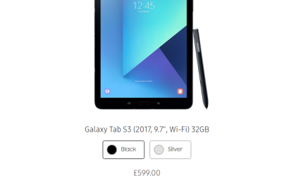 Galaxy Tab S3 goes out of stock in UK