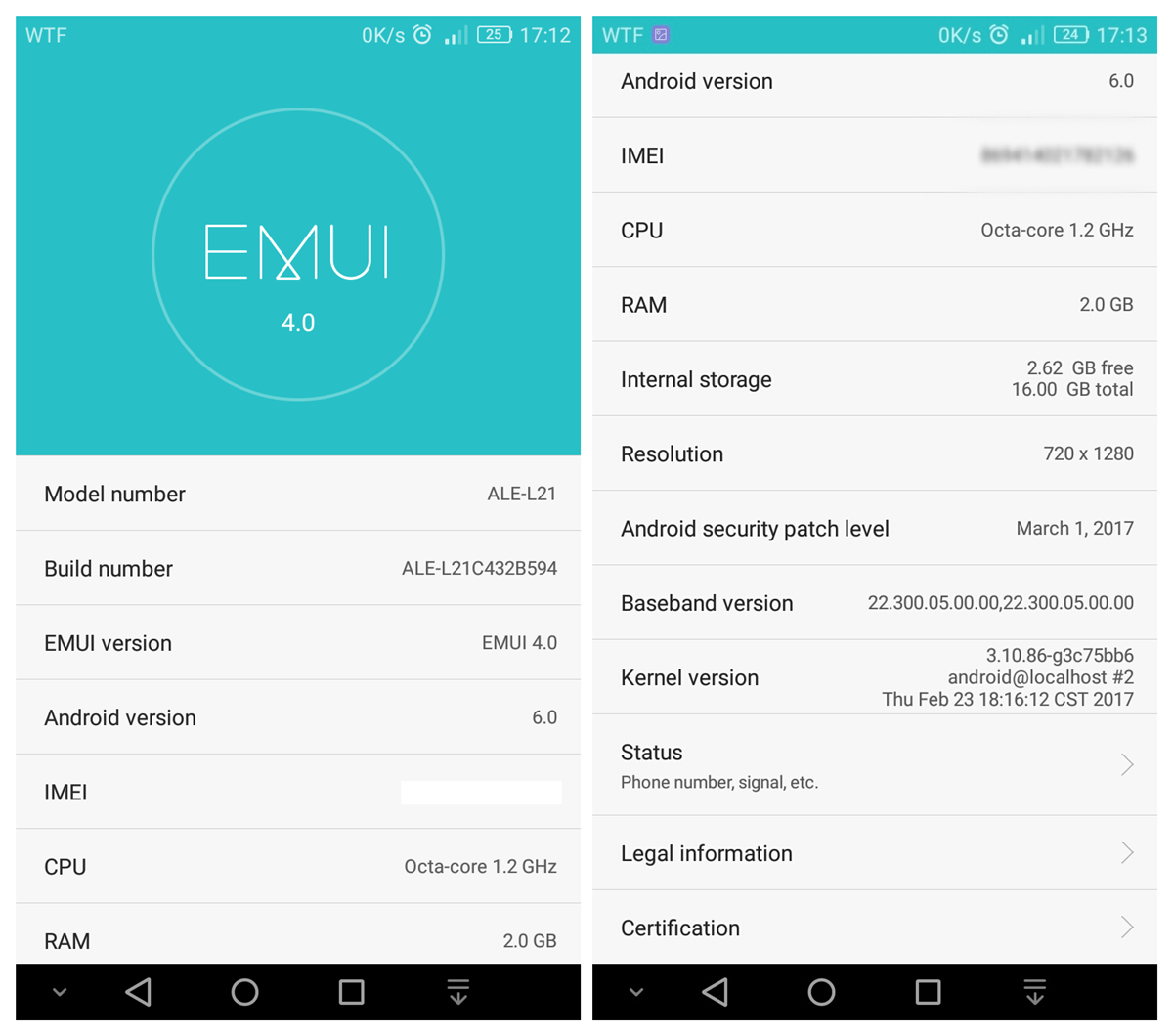 Huawei P8 lite gets March security patch with an OTA ...