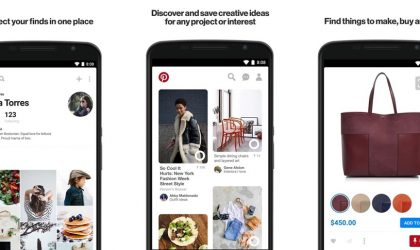 Pinterest Lens BETA now available via today's update