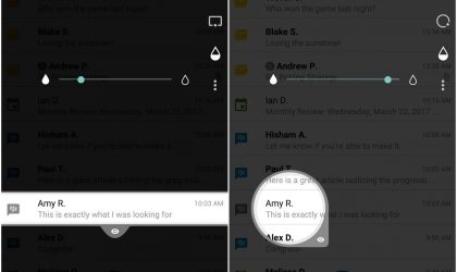 BlackBerry's Privacy Shade app lets users hide their screen from prying eyes