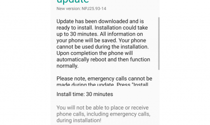 Moto G4 gets the official Nougat update in US