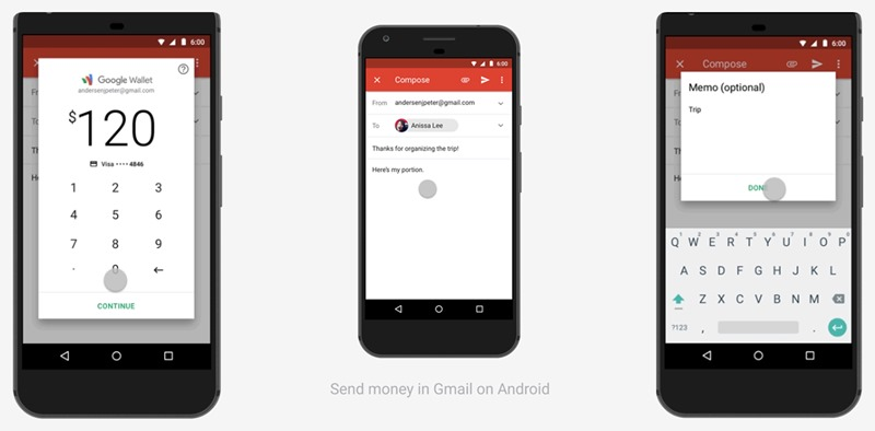 How To Send Receive And Request Money Using Email On Gmail Android