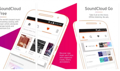 SoundCloud update improves the autocomplete function and brings in support for premium SoundCloud Go+ tracks on Chromecast