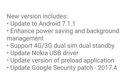 Nokia 6 Android 7.1.1 update now rolling out!