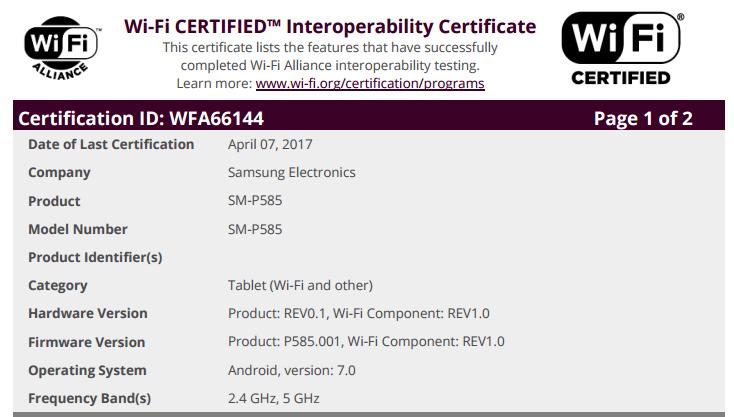 Galaxy Tab A 10.1 - 1