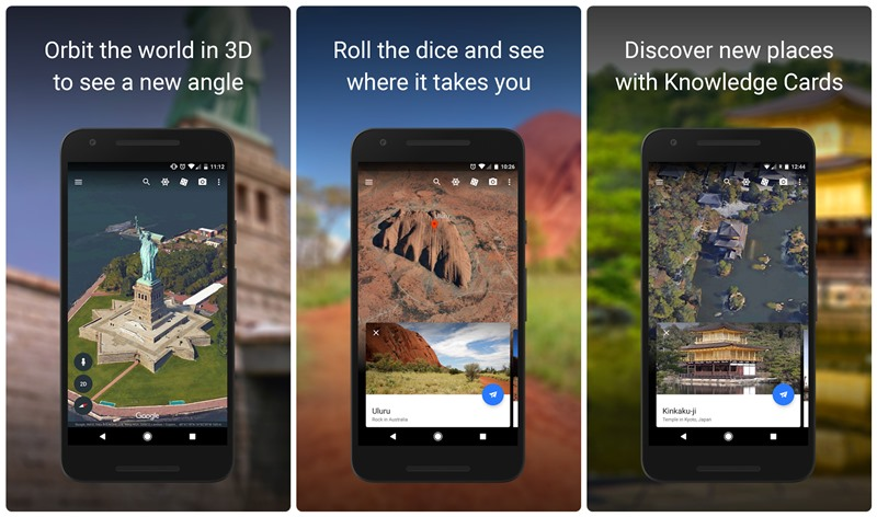 Google's updated Earth app will destroy your free time