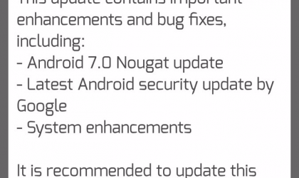 HTC One A9 in India receiving Android 7.0 Nougat OTA update