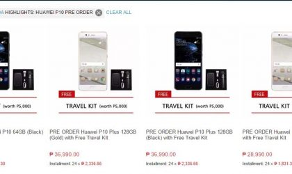 Huawei P10 and P10 Plus goes on pre-order in Philippines