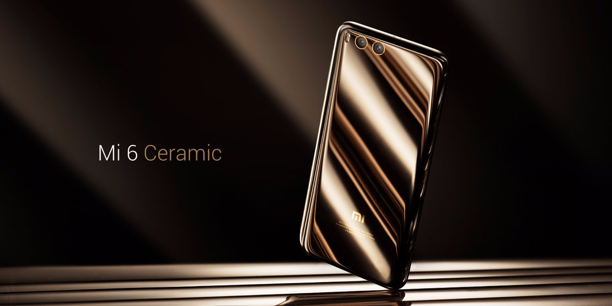 xiaomi mi6 ceramic price and images the android soul