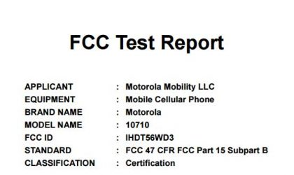 Did Moto E4 Plus with 5000 mAh battery just clear FCC?