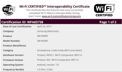 Refurbished Galaxy Note 7 nears release!