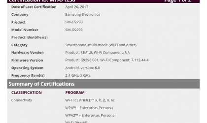 Samsung SM-G9298 could be another flip phone running on Android from Samsung
