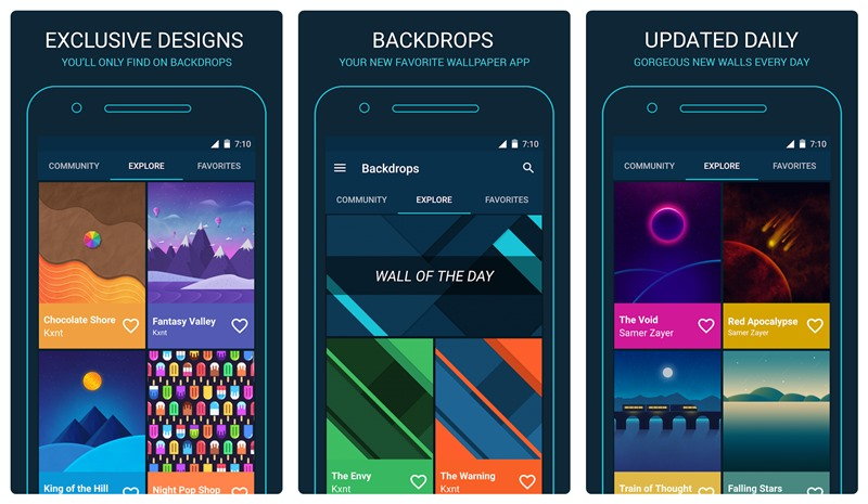 Backdrops Wallpaper Background App Android