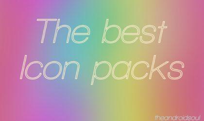 46 Best Icon packs: Round, Square, Minimal, Transparent, Light, Dark, White, and more types