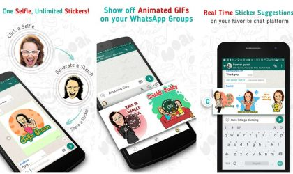 How to create and share personalized stickers and GIFs with your own face on them