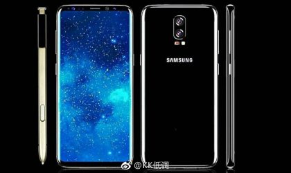 Samsung Galaxy Note 8 (SM-N950F) software is now being tested with firmware build N950FXXU0AQC6