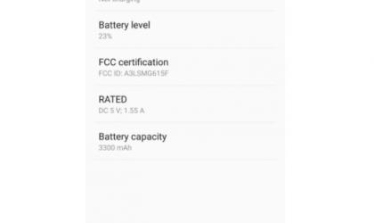 Samsung Galaxy On7 Pro (SM-G615F) battery specs revealed via FCC filing