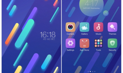 Xiaomi Mi 6 theme available for download