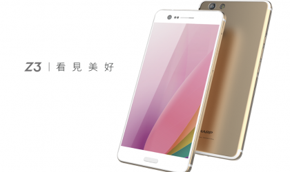 The Sharp Aquos Z3 is now official