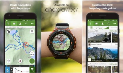 ViewRanger – Trails & Maps now supports Android wear 2.0