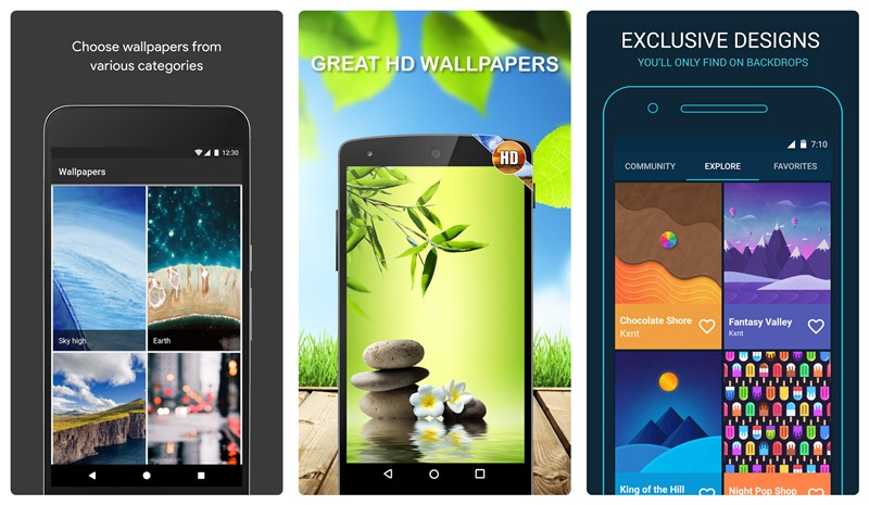 Top 11 wallpaper and background apps for your Android device