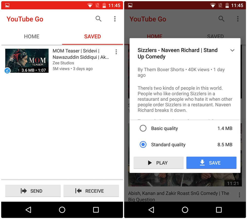 how to allow video on mobile youtube