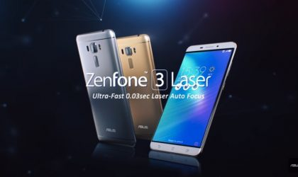 Asus Zenfone 3 Laser Nougat update now rolling out