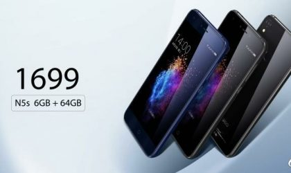 360 Mobiles N5S launched with 6GB RAM and dual front camera for 1699 Yuan ($250)