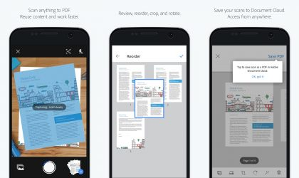 Adobe launches Adobe Scan app with reusable content and Adobe Document Cloud integration