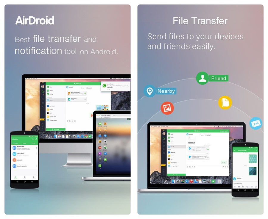 Airdroid-file-transfer-android-pc