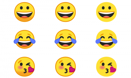 Android O emojis in flat and without borders look much cooler