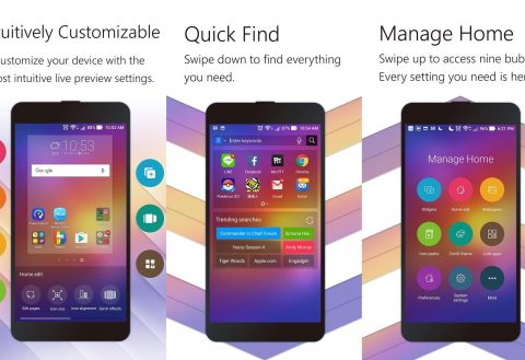 Asus ZenUI Launcher updated with Google app integration and icon frames