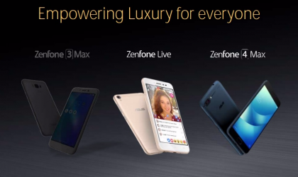 Leaked images of Asus Zenfone 4, Zenfone 4 Max and Zenfone 4s reveal dual cameras and more