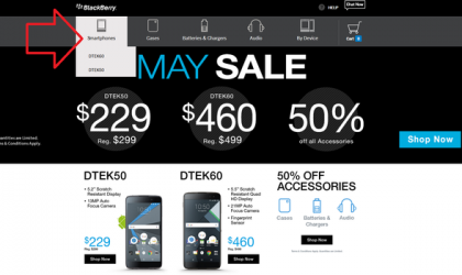 BlackBerry Priv, Passport, Classic, Leap sale discontinued in the US