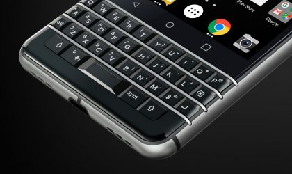 BlackBerry KEYone keyboard update adds support for swipe to type