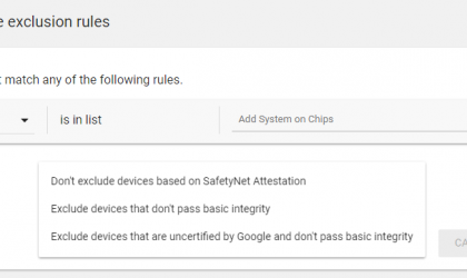 Play Store will no longer let you download certain apps if your device is rooted