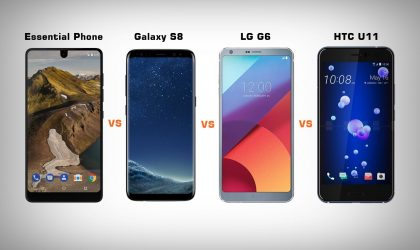 Essential Phone vs Galaxy S8 vs LG G6 vs HTC U11: Battle of the best Android phones