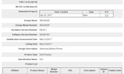 Galaxy Note 7R reaches Bluetooth SIG, gears up for launch