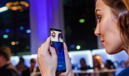Samsung to release a software update to counter Galaxy S8 iris scanner hack