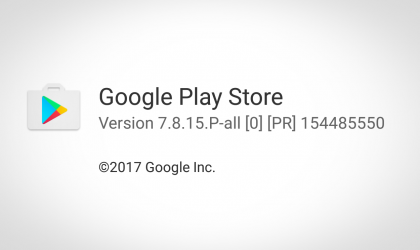 Download latest Play Store APK [v7.8.15]