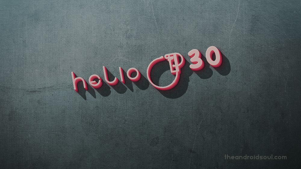 Helio P30