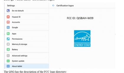 Huawei MediaPad M3 Lite 10.0 (BAH-W09) passes through FCC