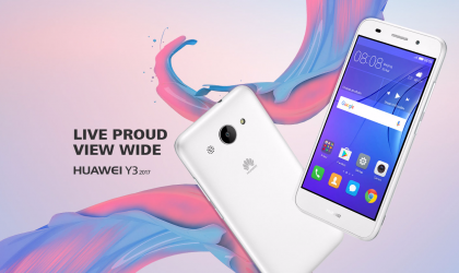 Huawei Y3 2017 launched in Russia for RUB 5,990 ($100)