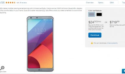 Deal: Get LG G6 for $360 only through AT&T