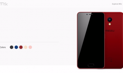 New Meizu device dubbed as M5c spotted on official site