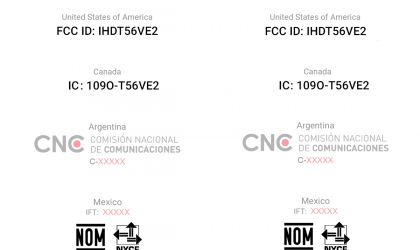New Motorola phone with model ID 9370 and 9842 passes through FCC
