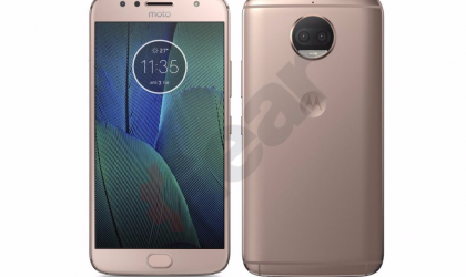 Here's what Moto G5S Plus looks like