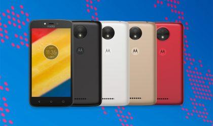 Motorola Moto C and C Plus are big battery powered budget Nougat phones