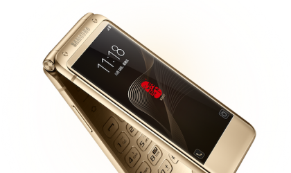 Samsung W2017 flip phone to release in Korea soon